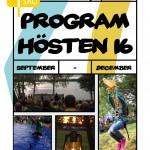 Program hösten 2016